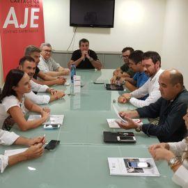 MC Cartagena consensúa con los representantes de las asociaciones del sector sus aportaciones al Plan de Impulso al Comercio