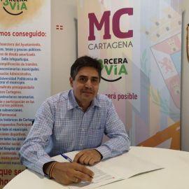 MC exige a los gobiernos regional (PP) y estatal (PSOE) que se coordinen para eliminar los peajes de Cartagena a Alicante y Vera