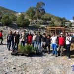 MC Cartagena participa, junto a los vecinos de La Aljorra, en la reforestación del paraje El Pericón, actividad organizada por la asociación CreeCT