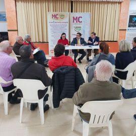 Representantes vecinales de Canteras y MC coinciden en los beneficios que aportaría la instalación de la Ciudad de la Justicia en la zona Oeste