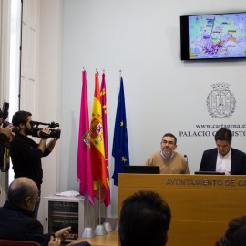 López alerta de que PSOE y PP quieren traer el AVE a Cartagena sin soterrar y en 2025