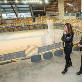 Castejón premia con medio millón de euros a la constructora del Palacio de los Deportes a pesar de las numerosas deficiencias