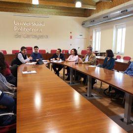 José López anuncia que triplicará la aportación municipal en la próxima legislatura a la red de Cátedras de la UPCT