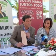 Antonio García explica en Mazarrón que llevará a la Asamblea las necesidades de la localidad en materia de seguridad, carreteras o sanidad