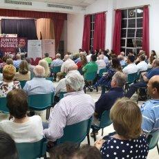 José López informa a los vecinos de La Aljorra que con la Alcaldía de MC volverán las inversiones a los barrios y diputaciones