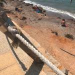 PSOE y Ciudadanos consuman su desprecio a la zona oeste obviando soluciones para múltiples deficiencias en las playas de Isla Plana y La Azohía