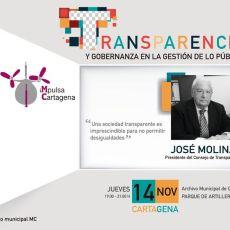'Impulsa Cartagena', iniciativa del Grupo municipal MC, arranca mañana abordando la transparencia en la gestión de lo público