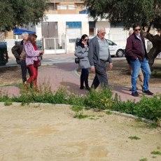 El abandono de la Urbanización Mediterráneo, otro ejemplo más de la dejadez del Gobierno en barrios y diputaciones