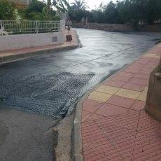 Con el habitual retraso del Gobierno concluye la obra redactada por MC para la adecuación de la Avenida Constitución de El Albujón