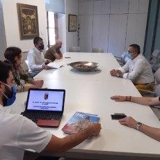 MC traslada al alcalde de La Unión los datos de la sistemática discriminación del Gobierno regional a la ciudad minera