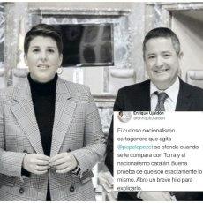 El Gobierno regional (PP) mantiene su campaña de ofensa a los cartageneros con la complicidad de Arroyo