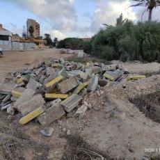 MC Cartagena denuncia vertidos de residuos de la construcción junto al Mar Menor