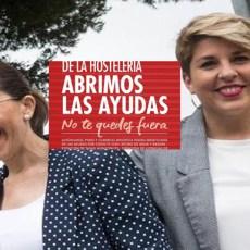 Arroyo y Castejón niegan auxilio a la hostelería mientras gastan 20 mil euros en decir que los ayudan