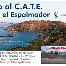 MC Cartagena acudirá mañana a la concentración convocada por Cartagena Futuro contra la ubicación del CATE en El Espalmador