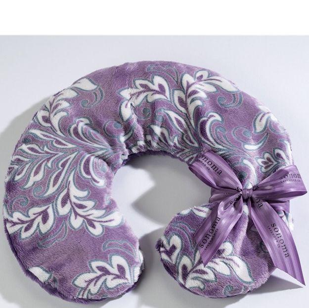 sonoma lavender violetta neck pillow