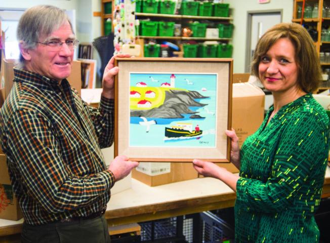 Work Of Canadian Painter Turns Up In MCC Thrift Shop