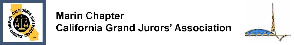 Marin Chapter California Grand Jurors' Association