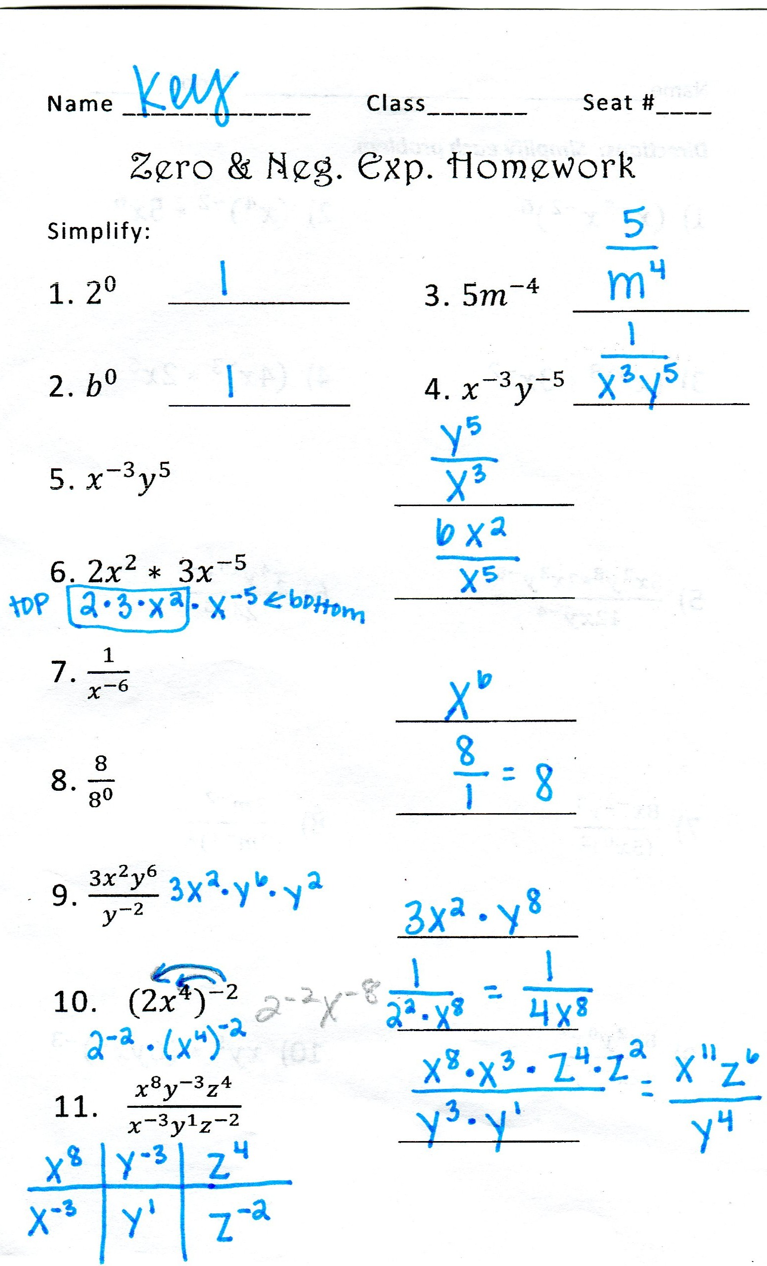 How To Solve Math Problems With Negative Exponents