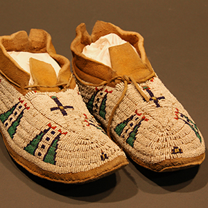 Cheyenne Beaded Moccasins, North America, late nineteenth century