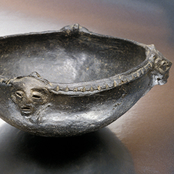 Bowl with Human Heads