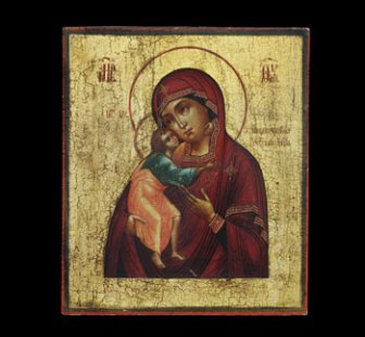 Feodorovskaya Mother of God, ca. 1850