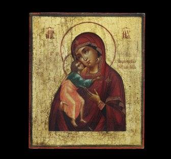 Feodorovskaya Mother of God, ca. 1850