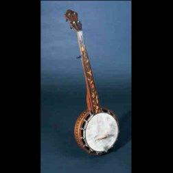 Henry C. Dobson/Martin Bros. Banjo, c. 1868.