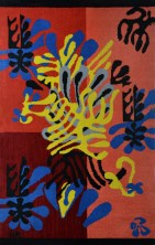 Mimosa, designed 1941, made 1951, Henri Matisse (French, 1869–1954), Wool, Gift of Sheila and Alvin Ukman, 1977.6.1