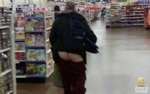 Totally Unacceptable even for people going to Walmart