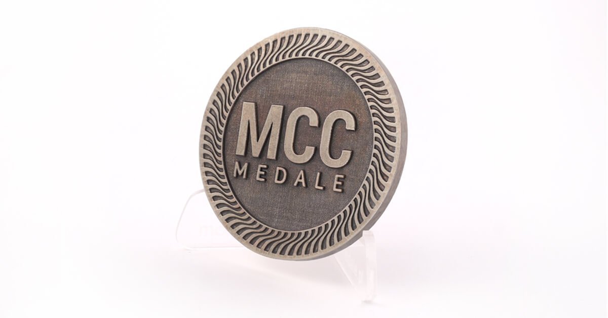 Nikiel oksydowany - jeden z kolorów odlewów w ofercie MCC Medale