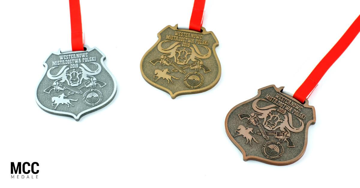 Kolory medali na podium