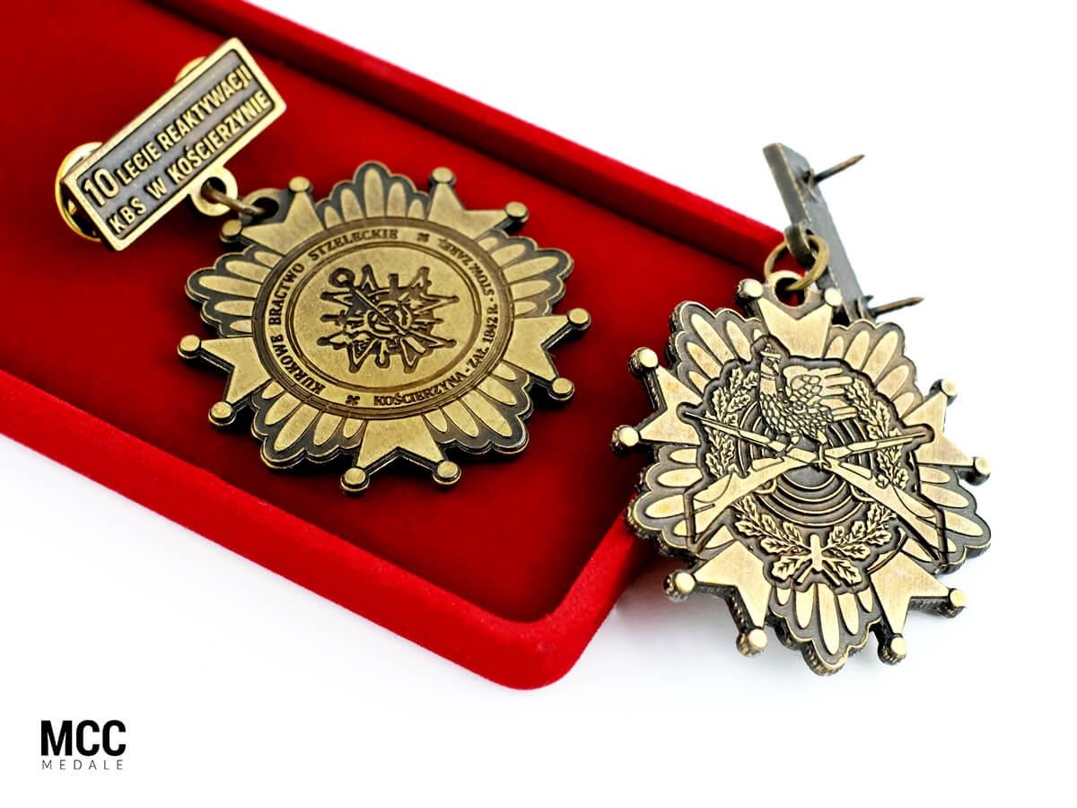 Odznaczenia okolicznościowe wykonane przez MCC Medale