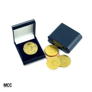 Pamiątkowe monety z własnym wzorem w etui