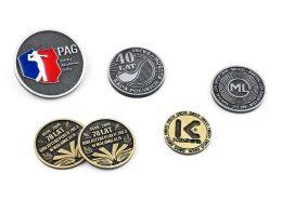 Monety jubileuszowe na zamówienie wyprodukowane przez MCC Medale
