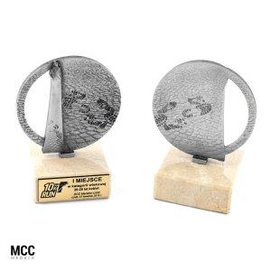 Statuetka metalowa wyprodukowana na zamówienie przez MCC Medale