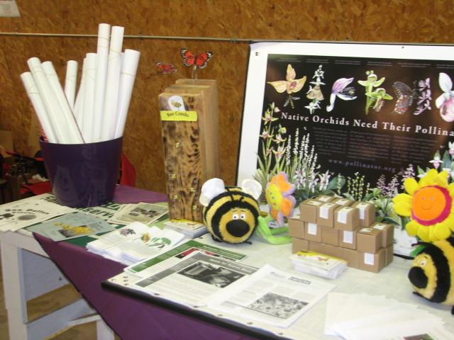 Pollinator booth display