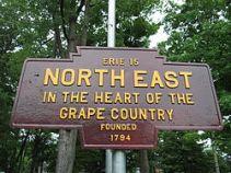 North_East,_PA_Keystone_Marker