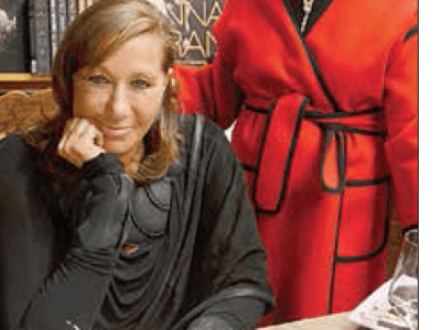 Donna Karan gets a surprise!