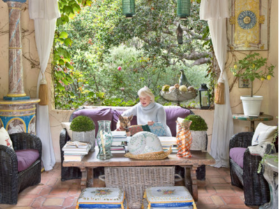 Montecito Gardens:  Our house featured in Santa Barbara Seasons magazine!!!