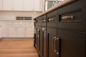Cabinet door and drawer details