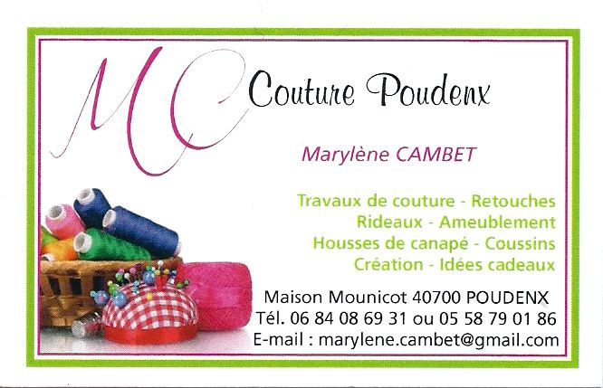 MC Couture Poudenx Marylne Cambet Couturire Sur Hagetmau