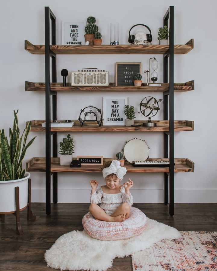 Industrial Bookcase DIY