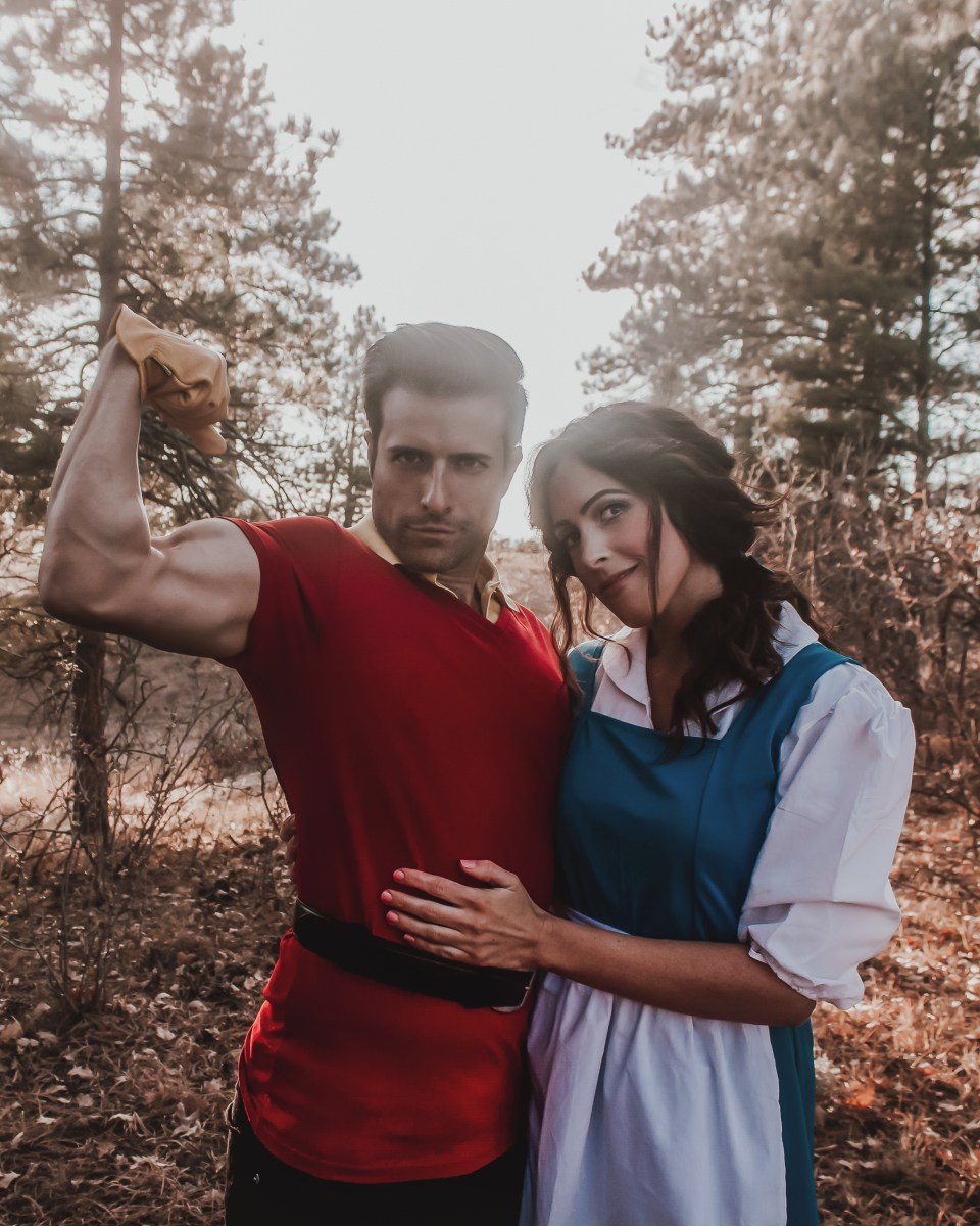 Couples Halloween Costume: Belle and Gaston