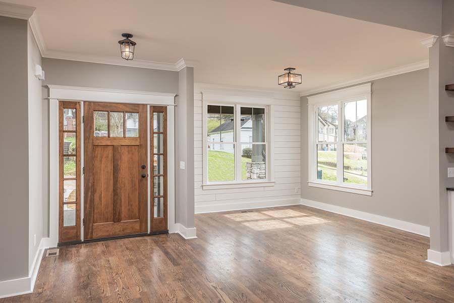 Modern Craftsman Interior Mccoy Homes