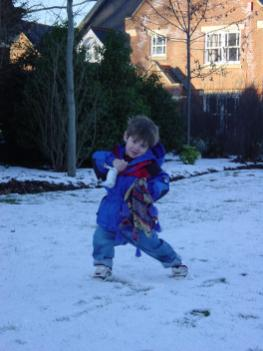 After Christmas 2000 in the snow2