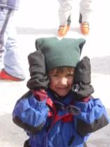 McCrae at ski school