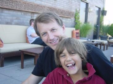 NY 2006 MC and Dad