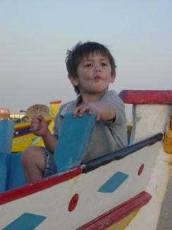 Portugal McCrae in fishing boat 1