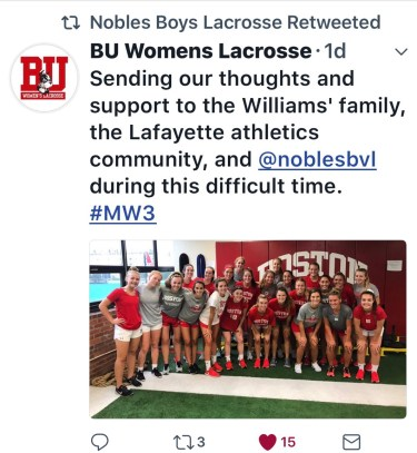Tribute BU Womens Lax