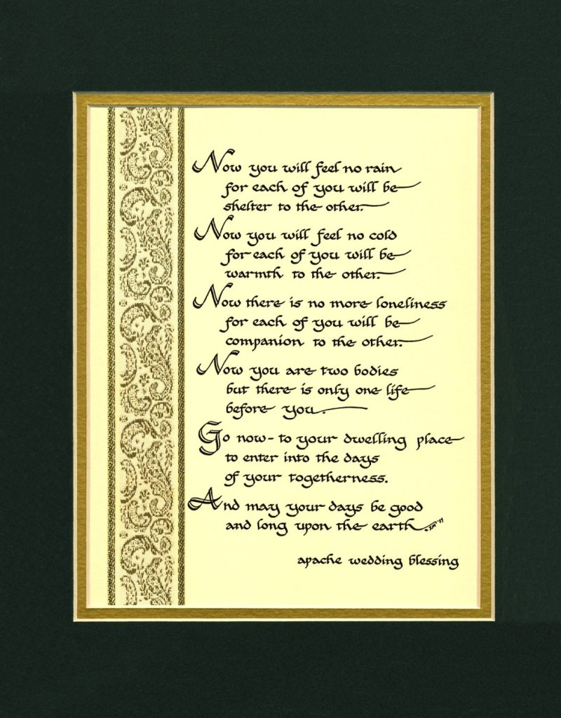 11R1 Apache Wedding Blessing Amazon